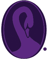 Swan Icon Purple
