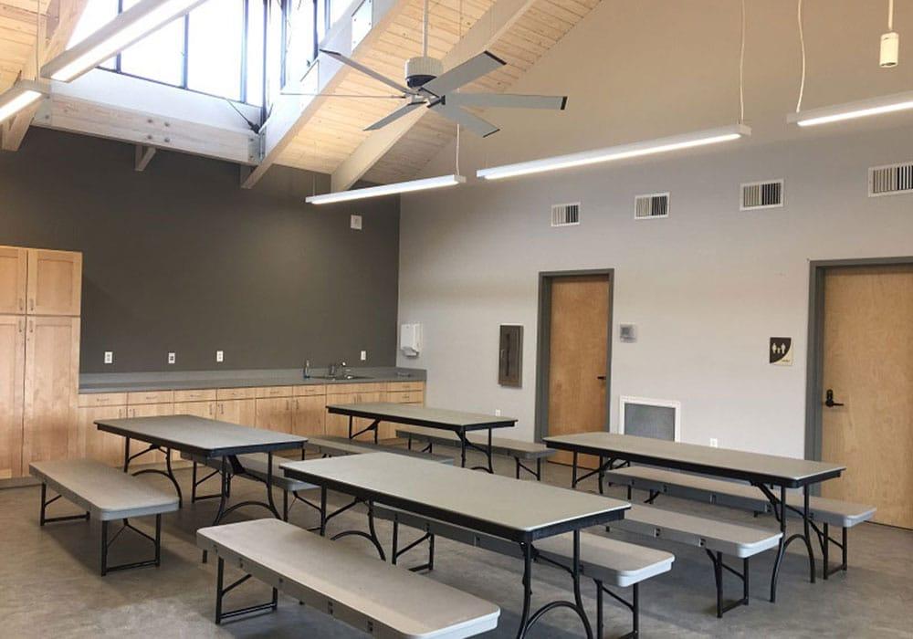 Farm Classroom Interior