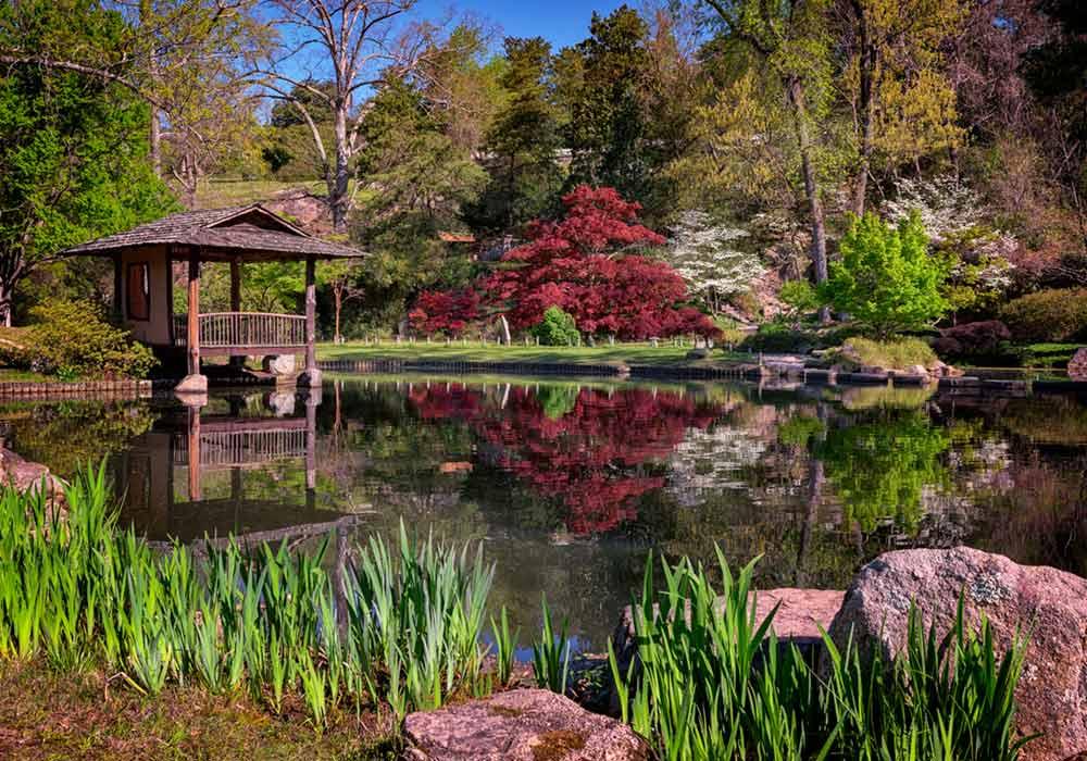 Japanese Garden at Maymont c Rick Berk