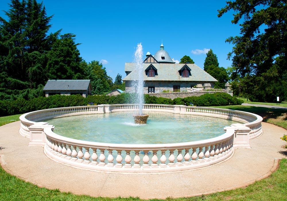 Button Carriage House Fountain C John A Cook