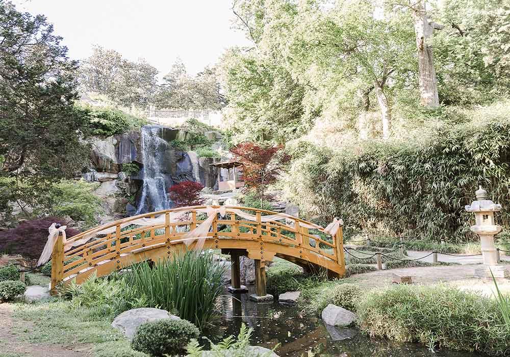 Button JG Wedding Waterfall Bridge