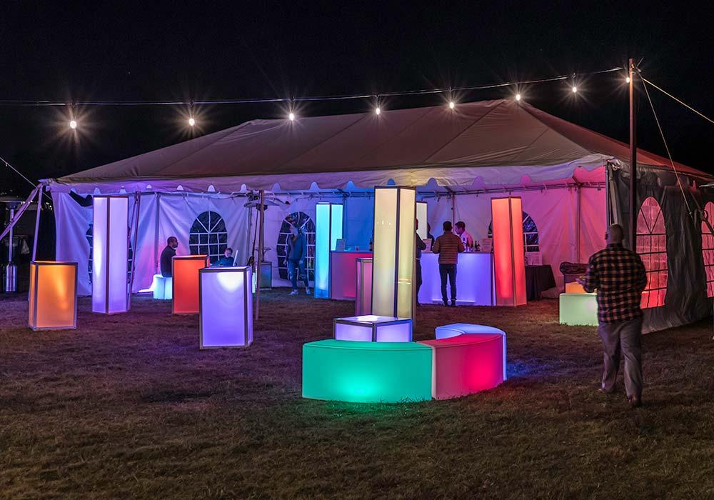 Button Garden Glow Tent