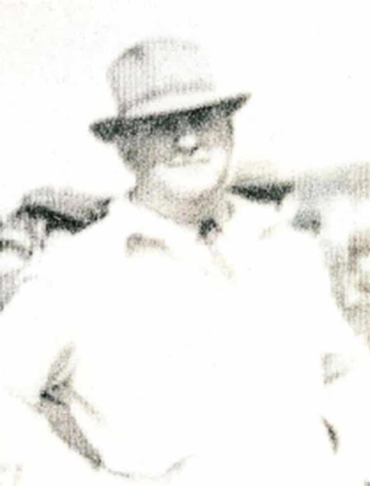 C. Hamilton Fitzgerald, 1949. Photo courtesy of his nephew, Aubrey H. Fitzgerald.