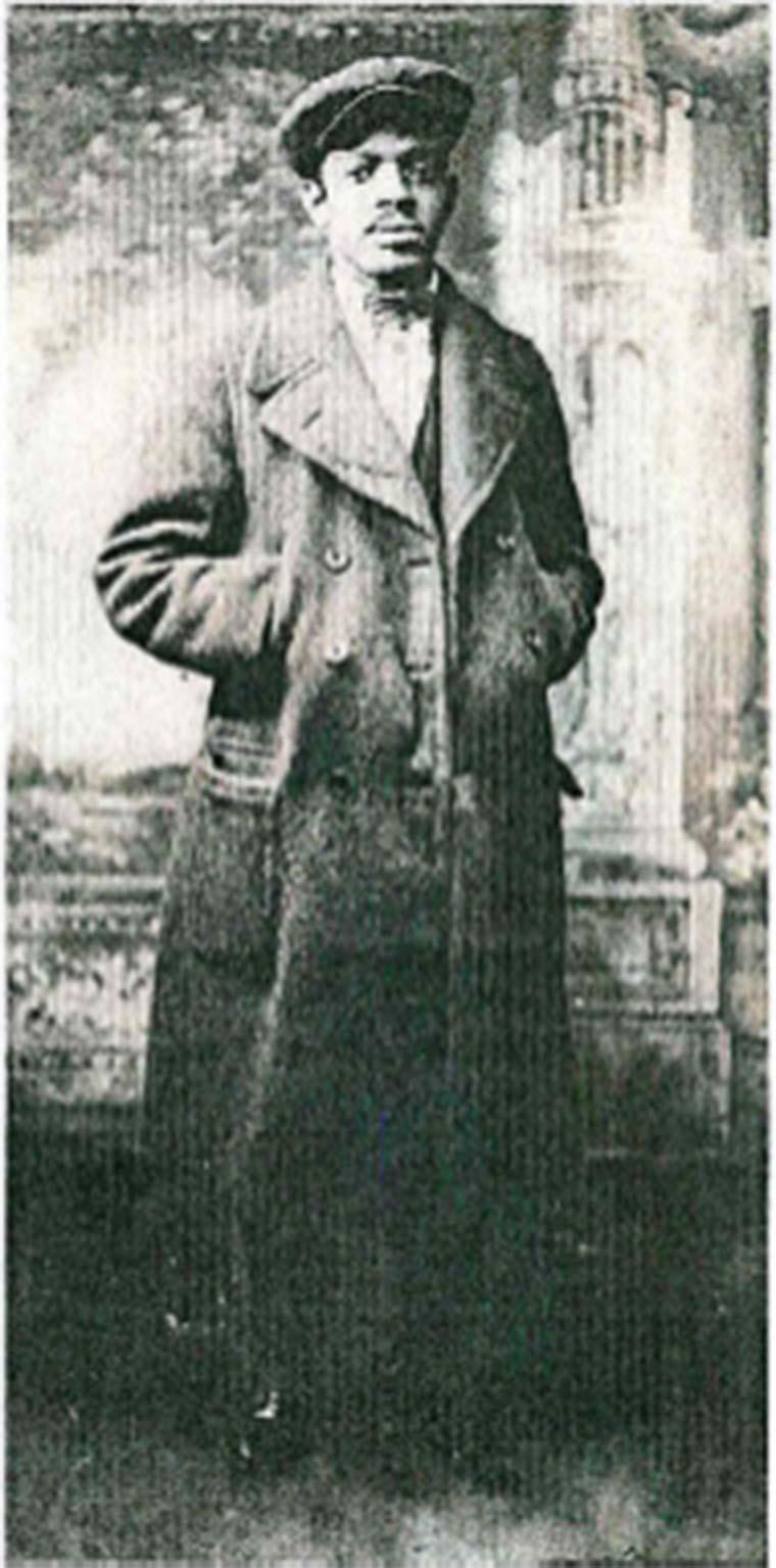 Abraham L. Walker, 1922. Photo courtesy of his granddaughter, Vera M. Pleasants.