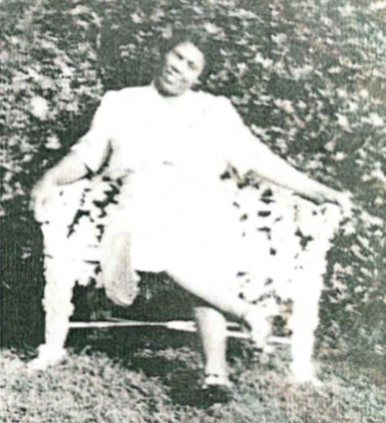 Georgia Lewis Anderson, ca. 1930s. Photo courtesy of her daughter, Audrey A. Smith.