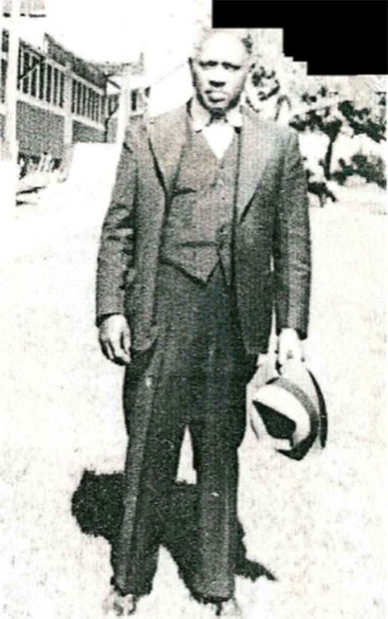 John Thomas Walker, ca. 1930s. Photo courtesy of his son, Sylvester Walker.