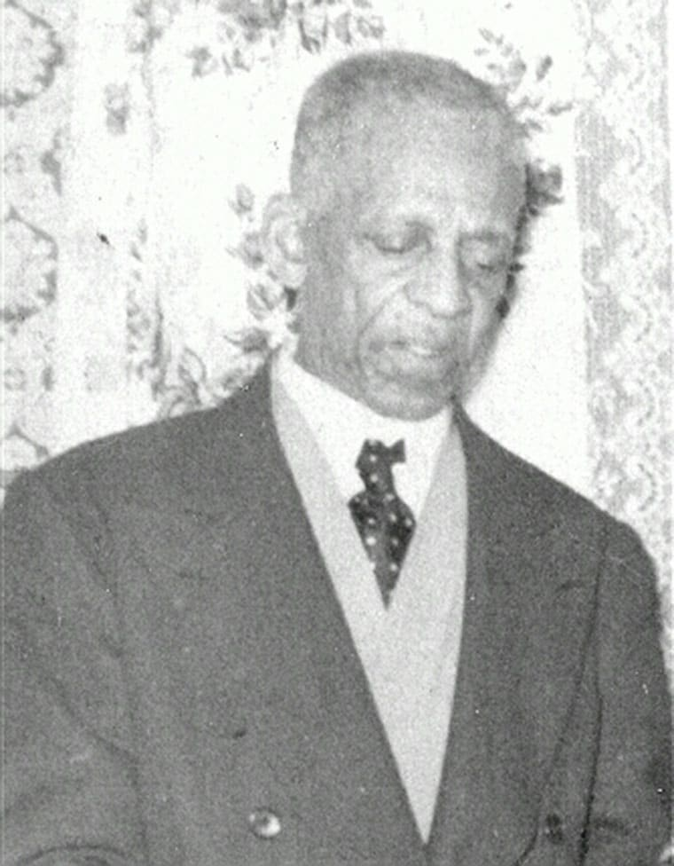 William J. Dilworth, ca. 1956. Photo courtesy of his grandson Harold P. Bailey.
