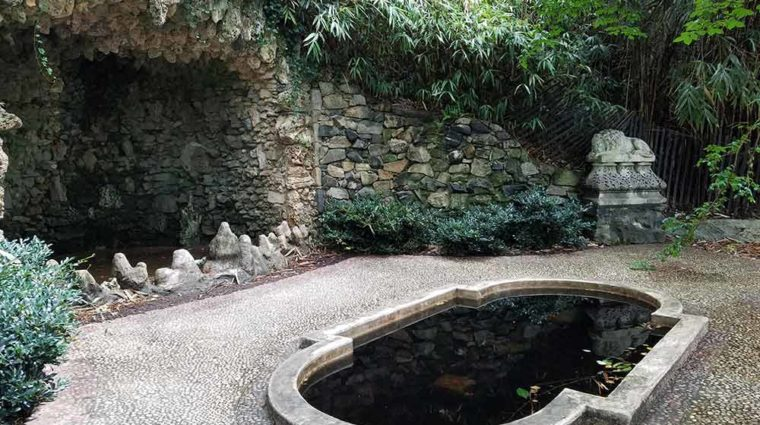 Japanese Garden Grotto at Maymont