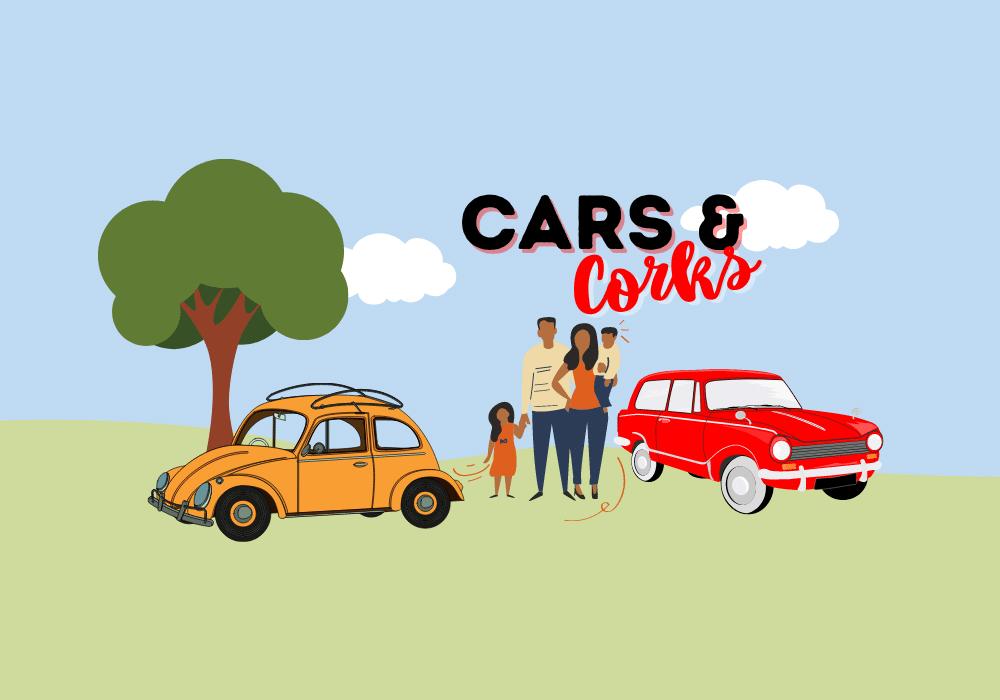 Cars & Corks Website Button