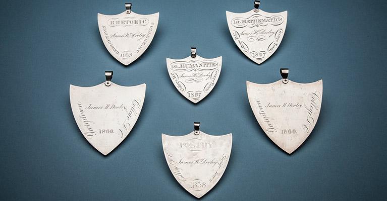 James Dooley's Georgetown College Academic Medals