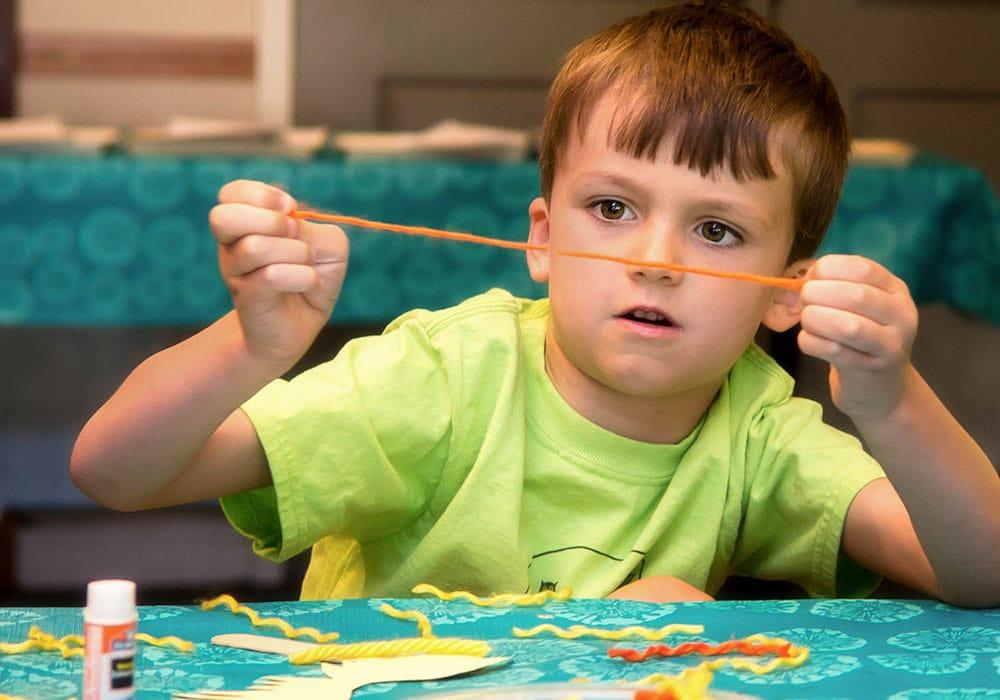 Button Boy Crafts Camp